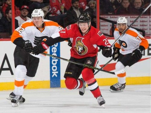 Is Curtis Lazar suffering from too much responsibility?