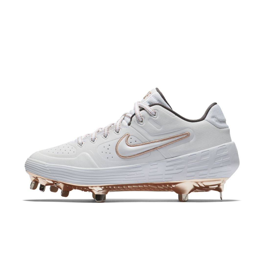 d4c65830bc19 Nike Alpha Huarache Elite 2 Low Women s Softball Cleat Size 11 (White)
