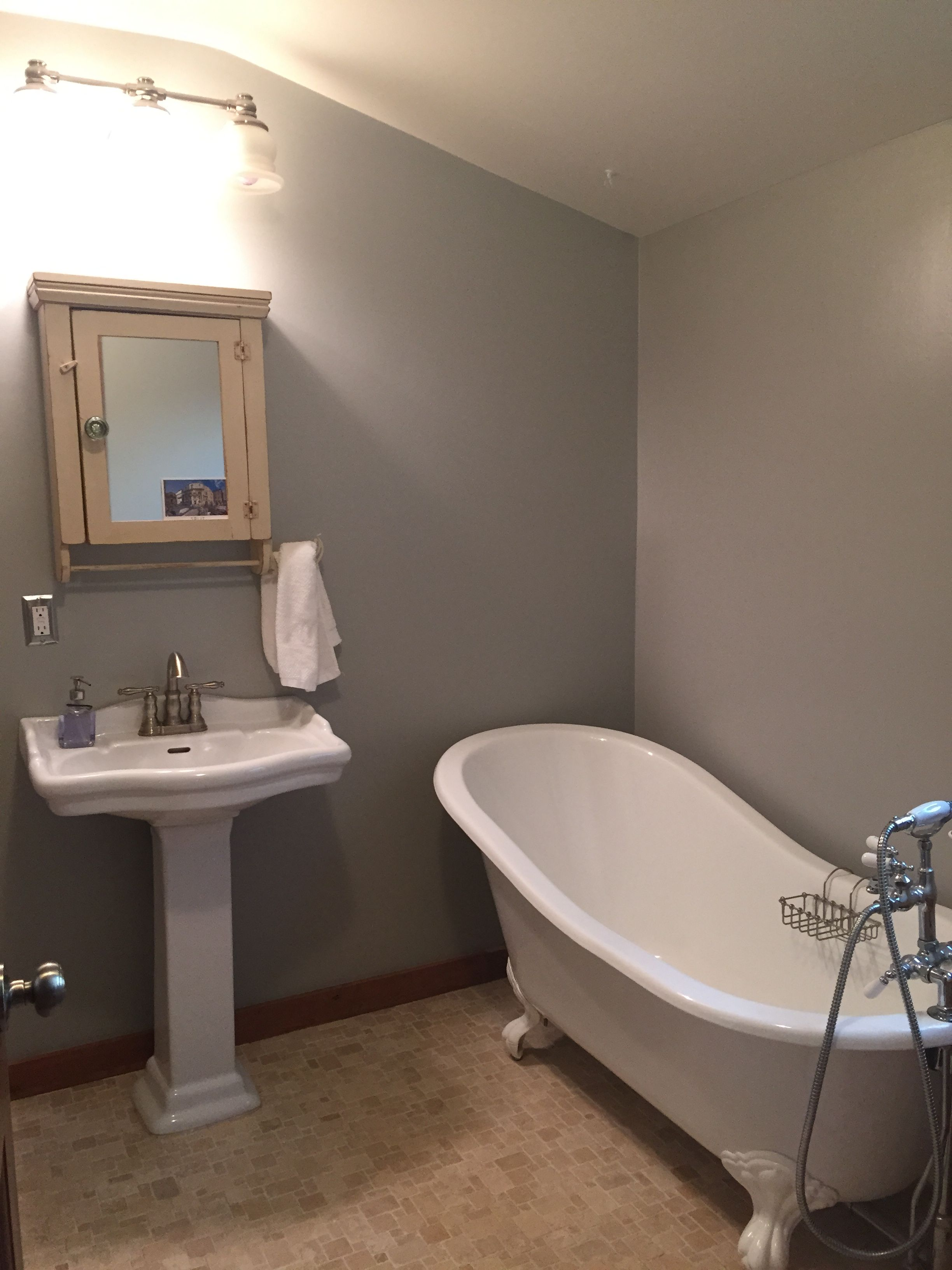 Behr Classic Silver Silver Wallpaper Bathroom Behr Paint Colors Grey Paint Colors