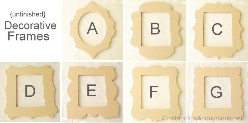 whimsical picture frames - Wooden Picture Frames In Bulk