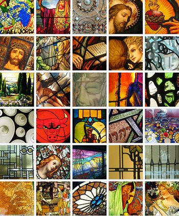 Smith Museum of Stained Glass, Navy Pier, Chicago via moleskinerie: A permanent display of 150 stained glass windows including works by Louis Comfort Tiffany. John LaFarge. Ed Paschke and Roger Brown. Free admission. #Smith_Museum_of_Stained_Glass #Chicago #Navy_Pier