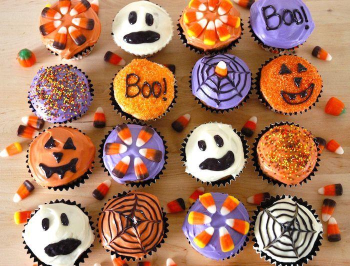 ▷1001 Rezepte für Halloween Muffins und kreative Ideen für ihre Dekoration #halloweenrezepte