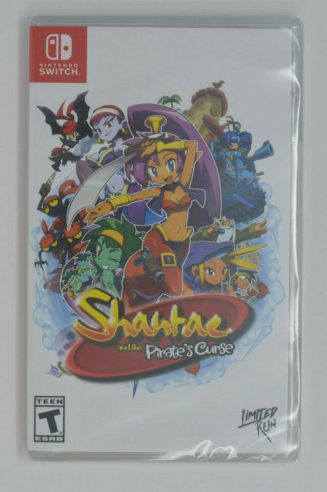 Shantae and the Pirates Curse Nintendo Switch Limited Run