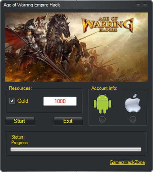 Age of Warring Empire Hack (Android/iOS)