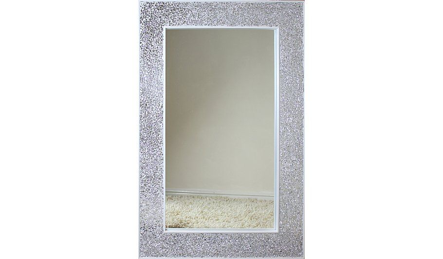 Buy Mosaic Rectangular Mirror - Silver from our Mirrors range today ...