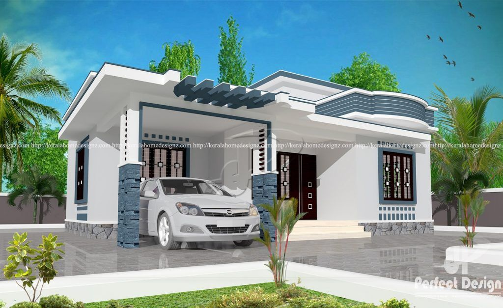 Image Result For 37 58 2bhk Home Desighn Modern House Plans Single Floor House Design Cheap House Plans