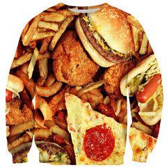 Junk Food Sweater