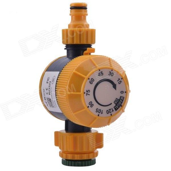 NEJE ZJ0025 4 Automatic Mechanical Water Timer Garden Hose Sprinkler  Irrigation Controller   Orange