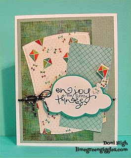 Card by Doni High using Verve Stamps.  #vervestamps