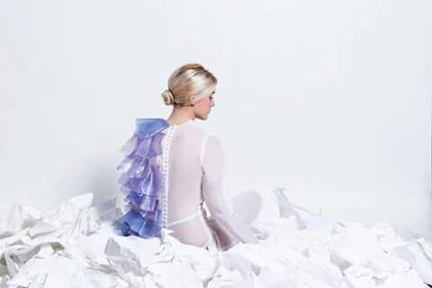 -Giulia Tano- graduation collection plastic experiment trasparent