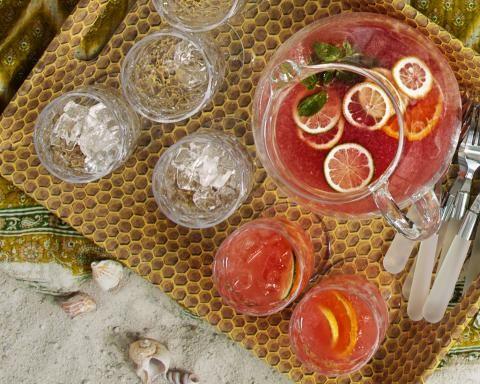 Pink Lemonade Sangria - Real Simple July 2015