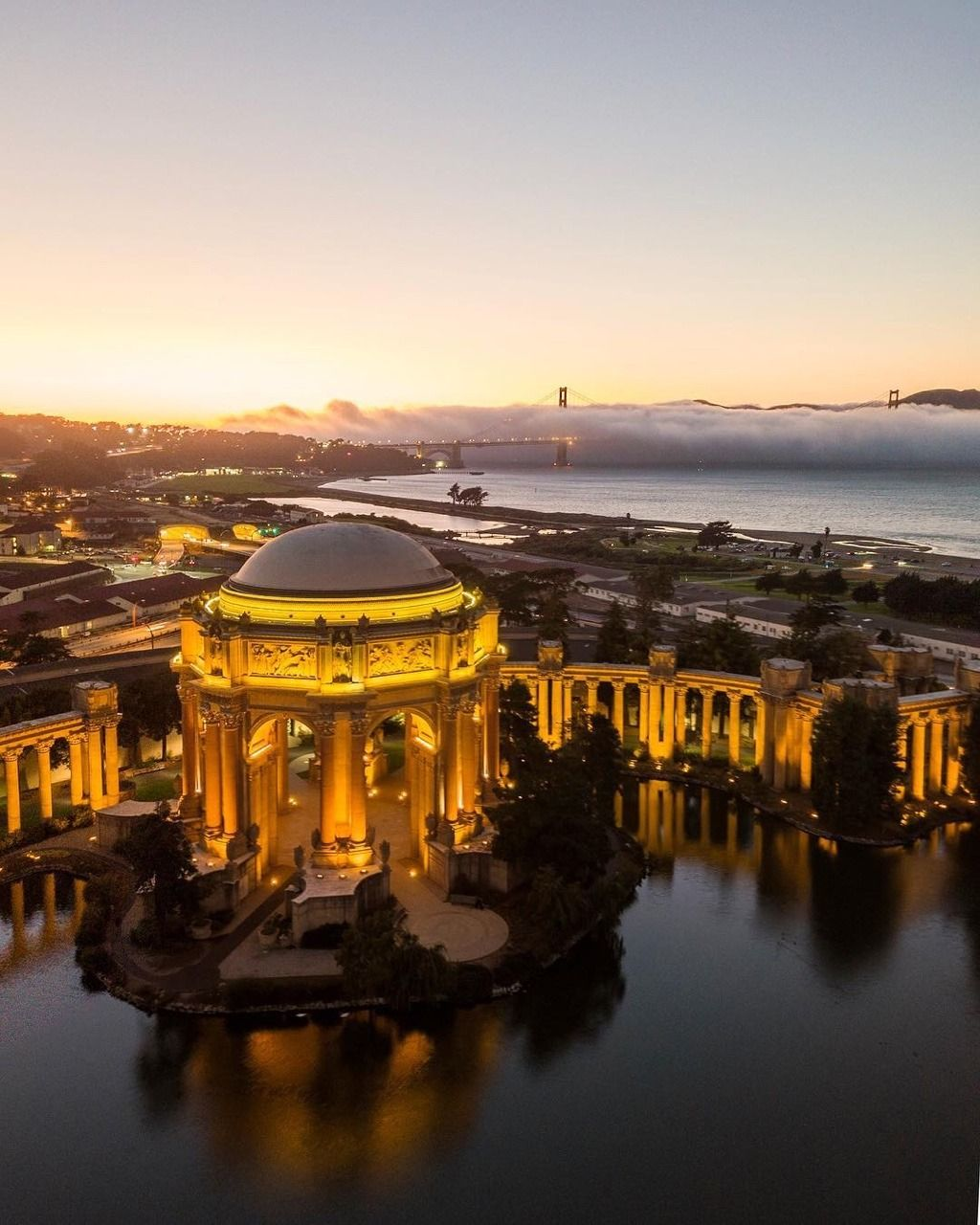 Art Places In San Francisco: Palace Of Fine Arts By @JacksonPartin #sanfrancisco #sf