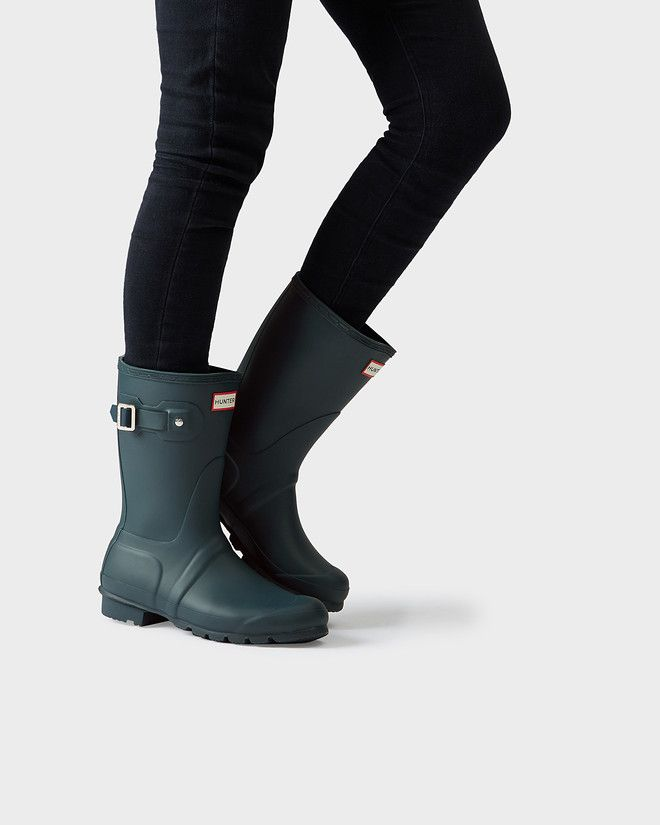 688846c62 Women's Original Short Rain Boots, matte, size 7. Ocean, navy, dark slate  or hunter green.