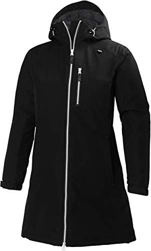 Photo of Finest Vendor Helly Hansen Girls's Lengthy Belfast Insulated Waterproof Windproof Breathable Raincoat Jacket  Hood on-line – Looknewclothing