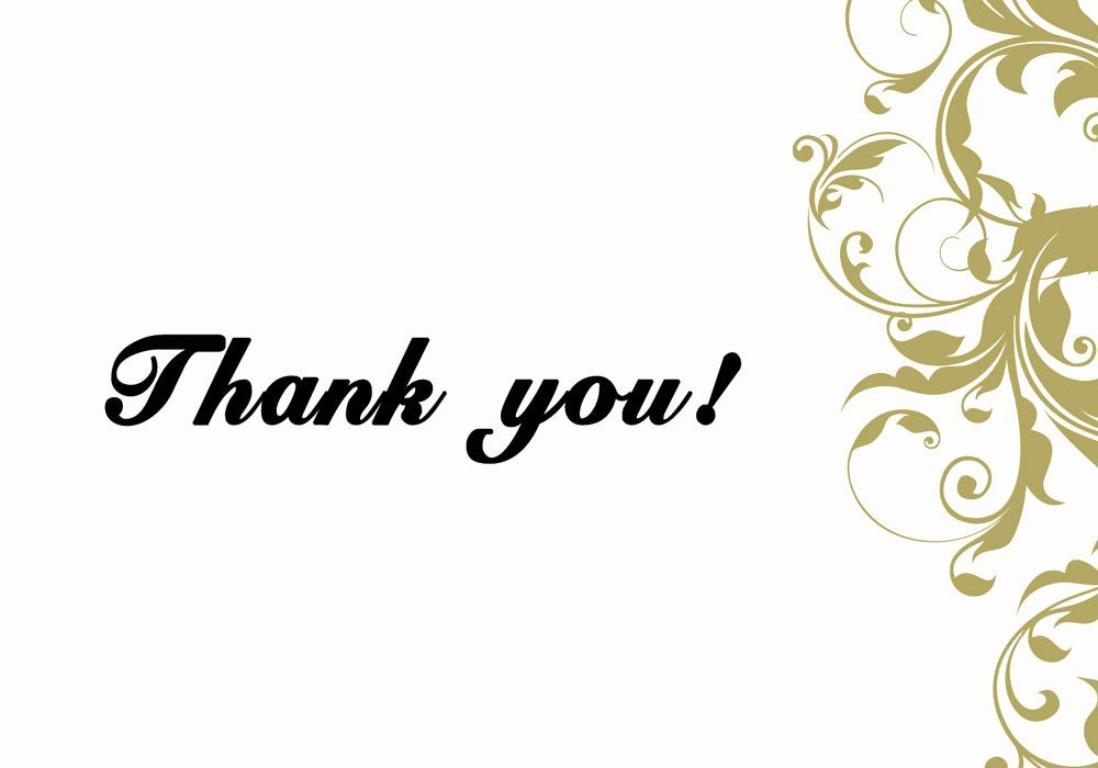 Photo Thank You Card Template Fresh 6 Thank You Card Templates Excel Pdf Formats Thank You Card Template Printable Thank You Cards Note Card Template