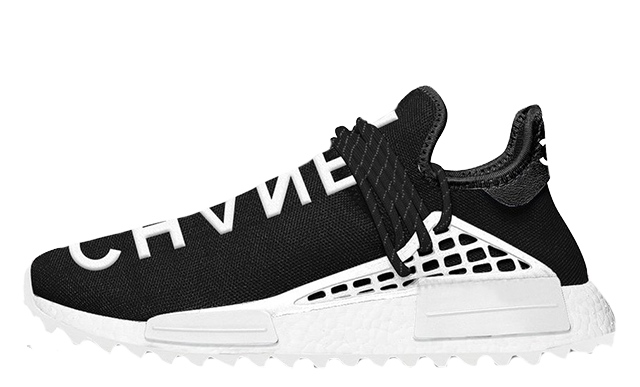 b515927647ad3a Pharrell Williams x Chanel x adidas NMD Human Race Black