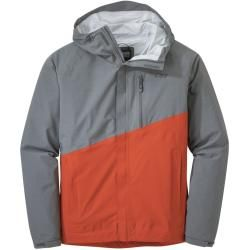Photo of Outdoor Research M Panorama Point Jacket | S,m,l,xl,xxl | Grau / Orange | Herren Outdoor Research