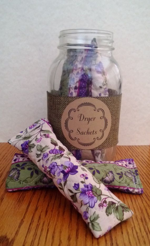Organic Lavender Filled Quilted Dryer Sachet by CountryCottageHerb, $20.00