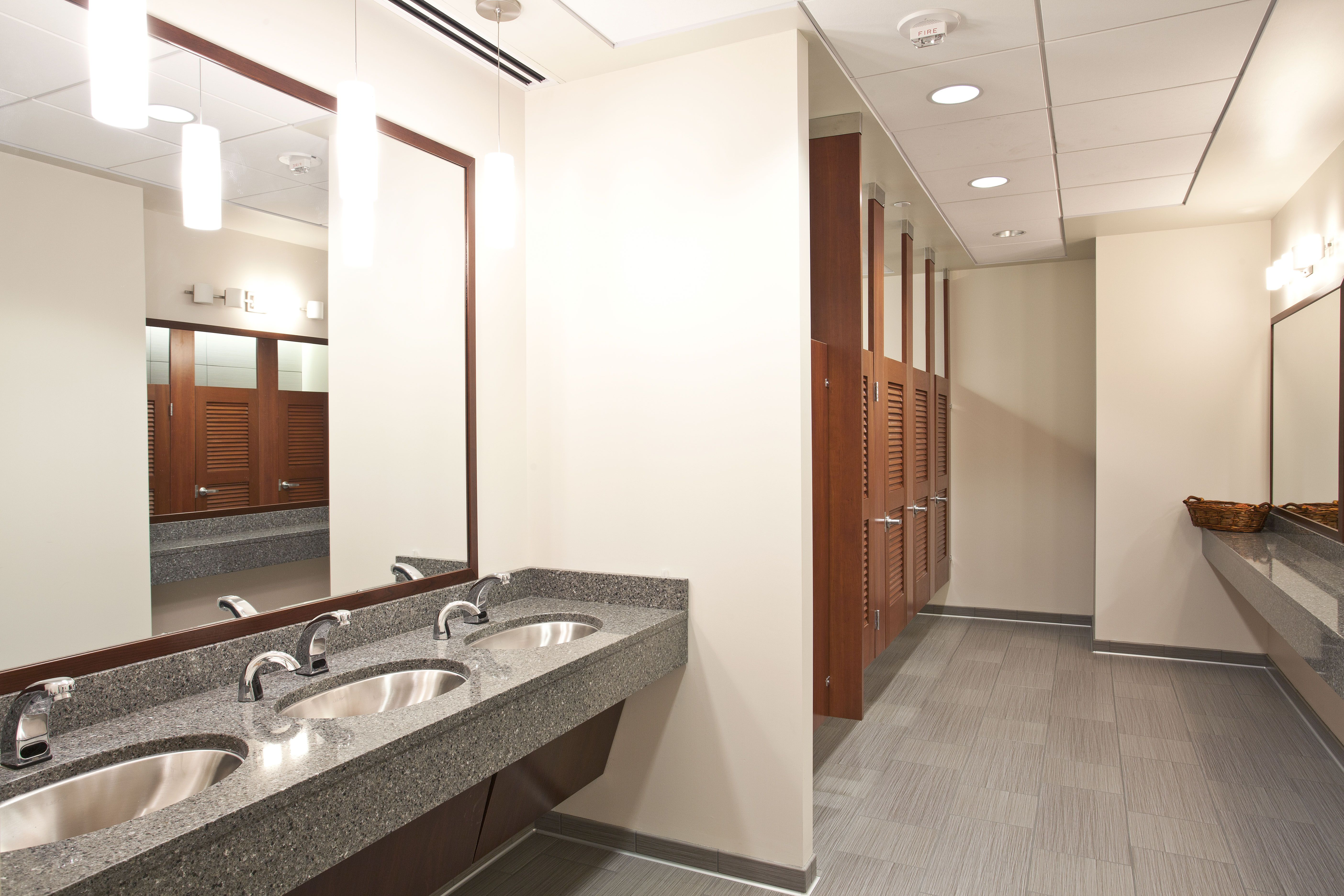 Commercial Bathroom Partitions Interior 1 ppg place restroom | pittsburgh, pa | pinterest