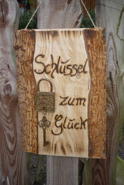 Hochzeit geschenk von holz kreativ auf schilder pinterest woods - Richtfest deko ...