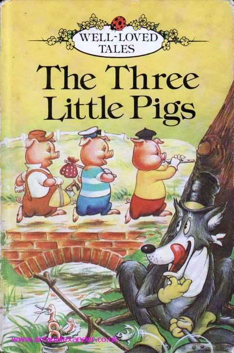 Ladybird Book Cover Pictures : The three little pigs pinterest
