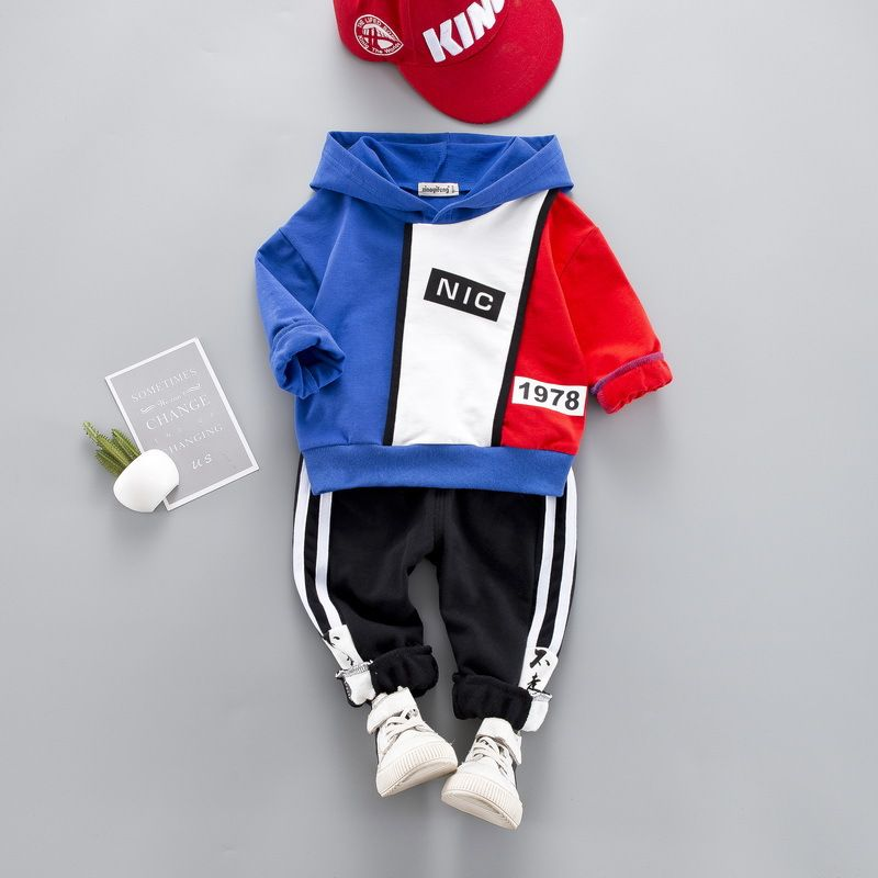 Youth Boys Girls Tracksuit Sweatshirt Set Baby Yo-da Pullover Hoodie Sweatpants 2 Piece Outfit Suits