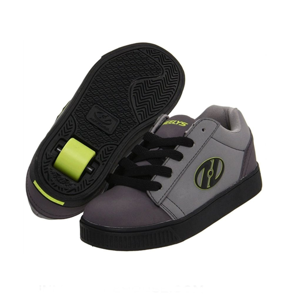 Roller Shoe (Blk/Charcoal/Lime