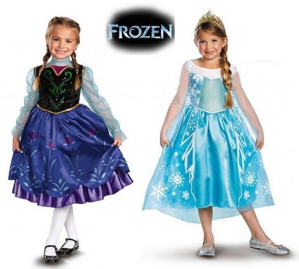 Disney Frozen Princess Elsa & Anna Girls Kids Dress Skirt Cosplay Costume  3T-7T | Dresses kids girl, Toddler party dress, Fancy dress for kids