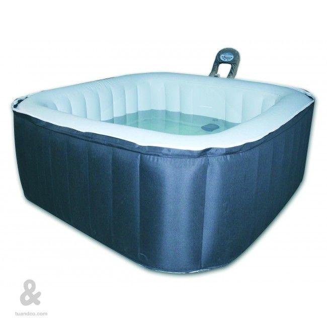 Spa hinchable toi 158x158cm piscinas hinchables ba era - Piscina hinchable cuadrada ...