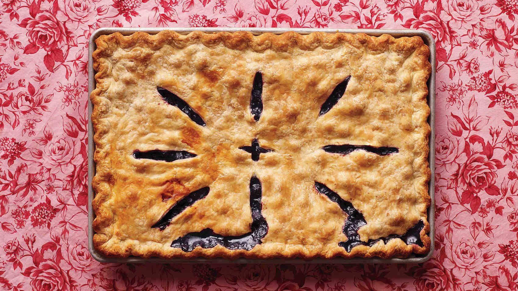 Martha Stewart Recipes Diy Home Decor Crafts Slab Pie Blueberry Slab Pie Recipe Slab Pie Recipes