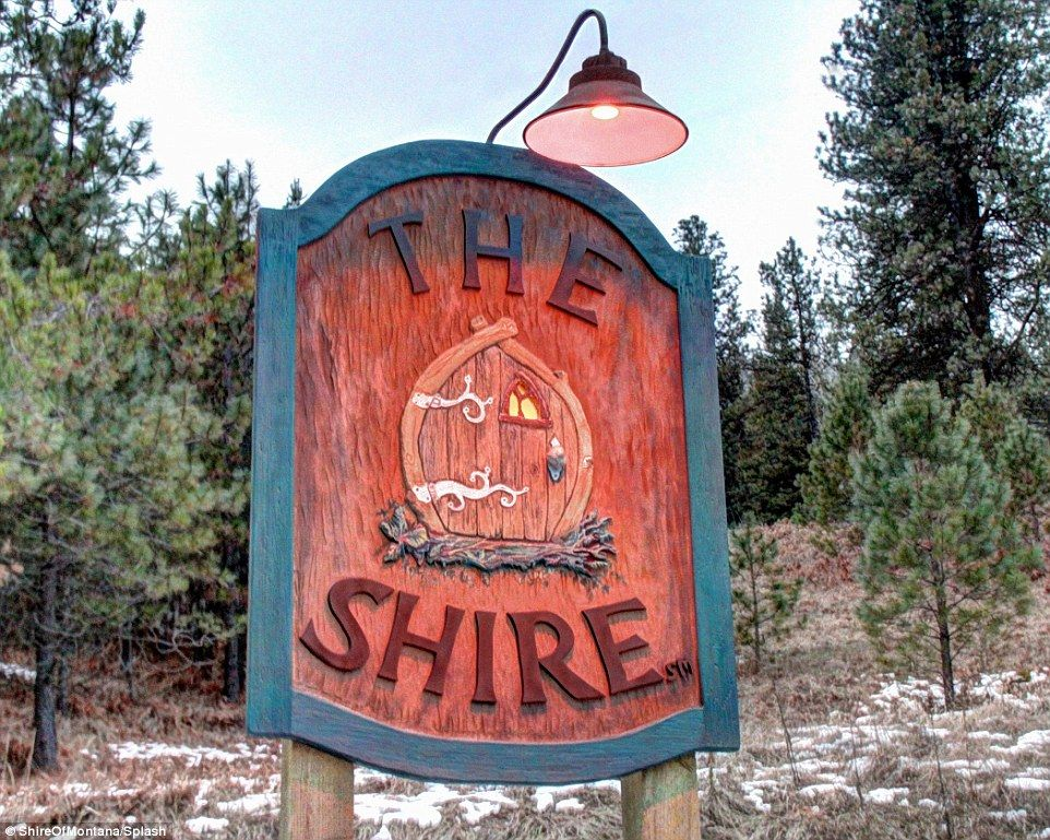 Children and pets are not allowed during overnight stays, and it costs $295 a night for two guests, with a minimum of two nights - The Shire is in America! A slice of Middle-earth in Montana!