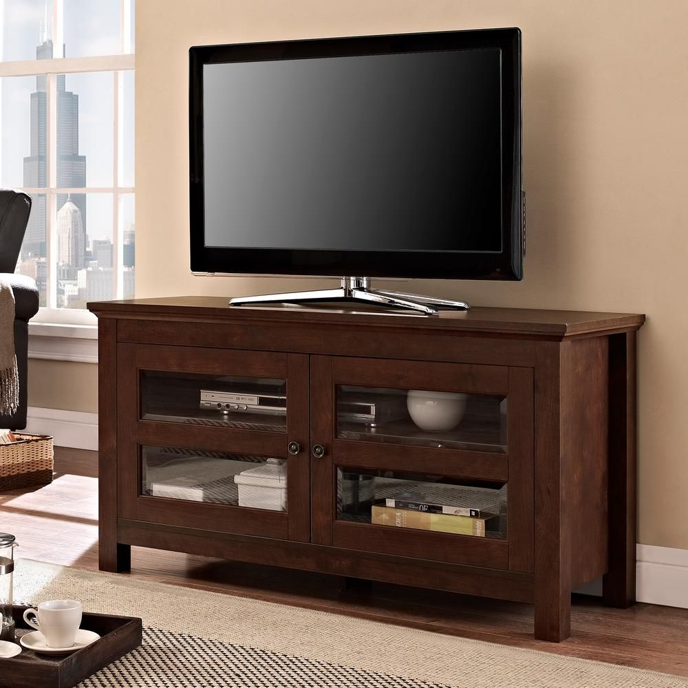Walker edison furniture company coronado brown entertainment center
