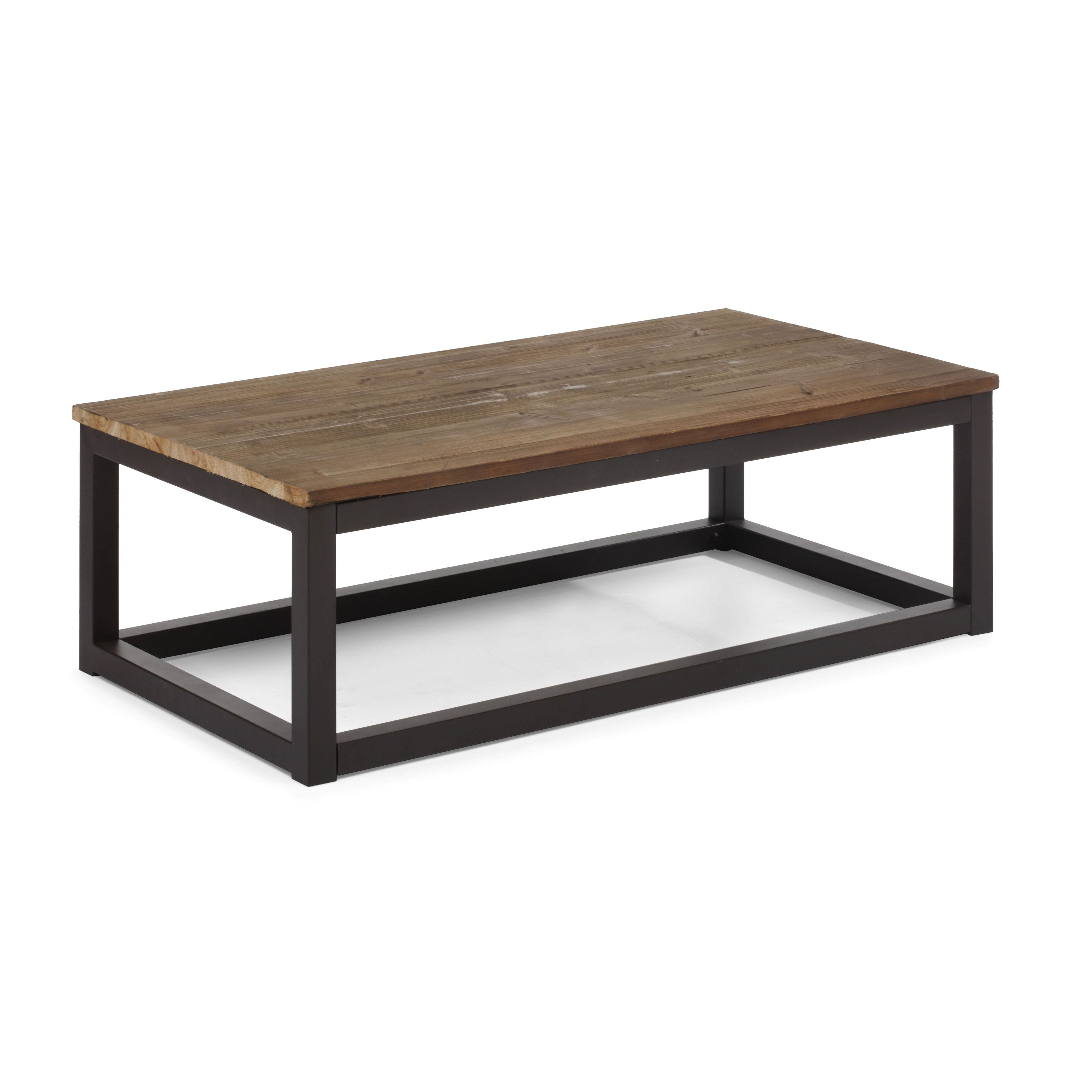 Civic center distressed natural long coffee table overstock civic center distressed natural long coffee table overstock shopping great deals on coffee geotapseo Image collections