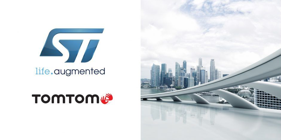 STMicroelectronics and TomTom unveil package of development tools in
