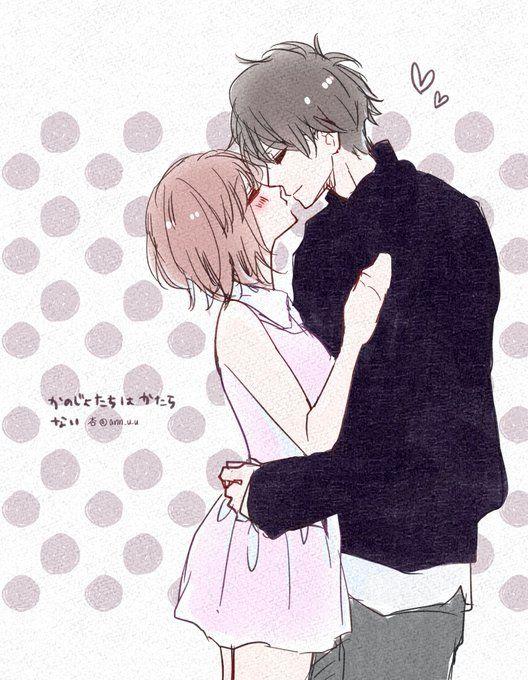 It S Just Oml So Cute 恋人 イラスト アニメのかわいいカップル アニメ ラブ