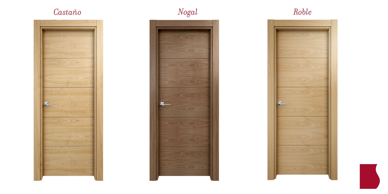 Serie contempor nea modelo 8005 colecci n contempor nea puertas de interior sanrafael - Puertas de castano ...