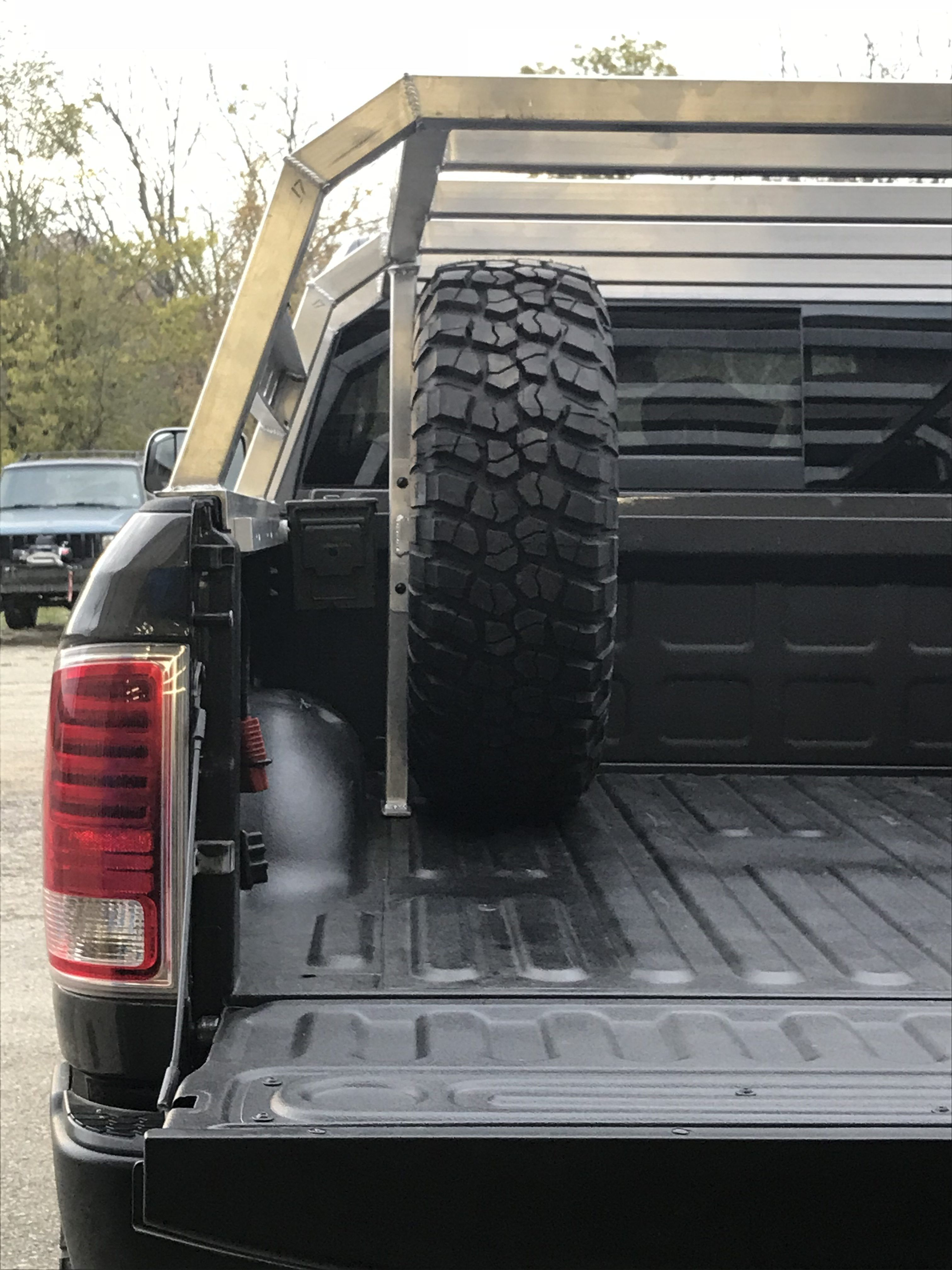 Nutzo Tech 2 series Expedition Truck Bed Rack Custom
