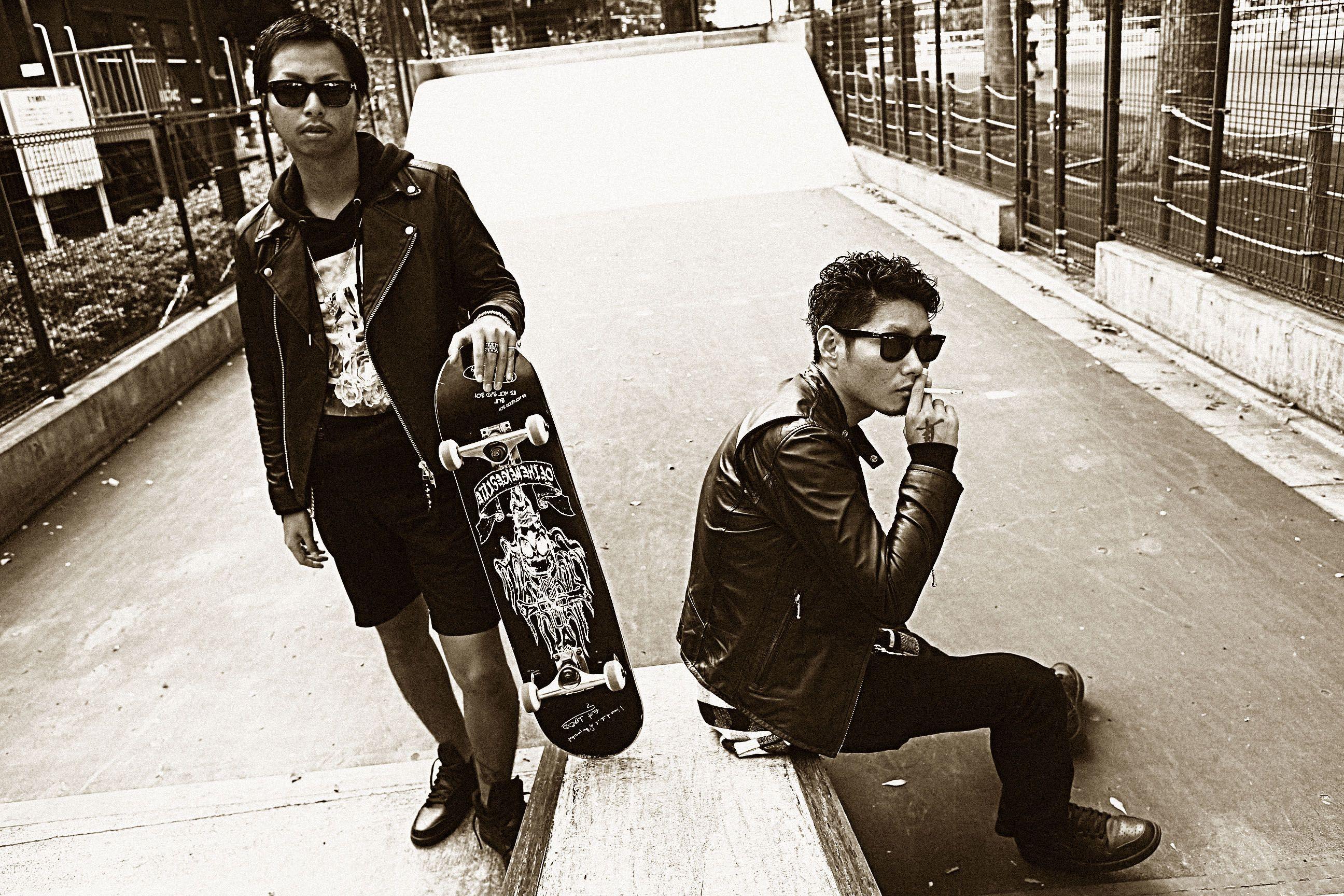 "TOKYO STREET THUG LIFE ""FUCK"" #ofthenigestyle #tokyo #street #thug #life #fuck #look #swag #gang #black #style #skateboard"
