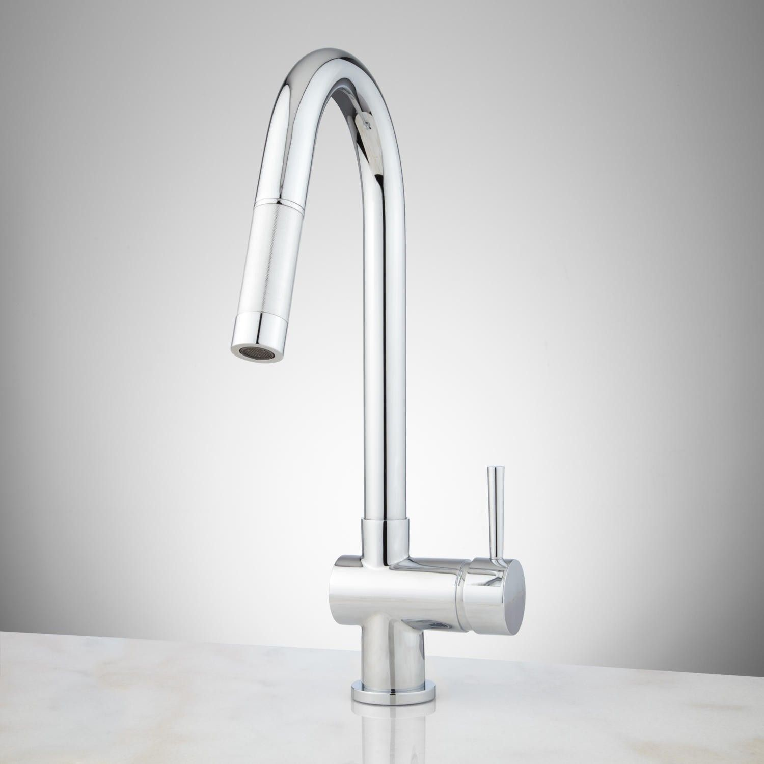 Motes Single Hole Pull Down Kitchen Faucet Baths Master Bedroom
