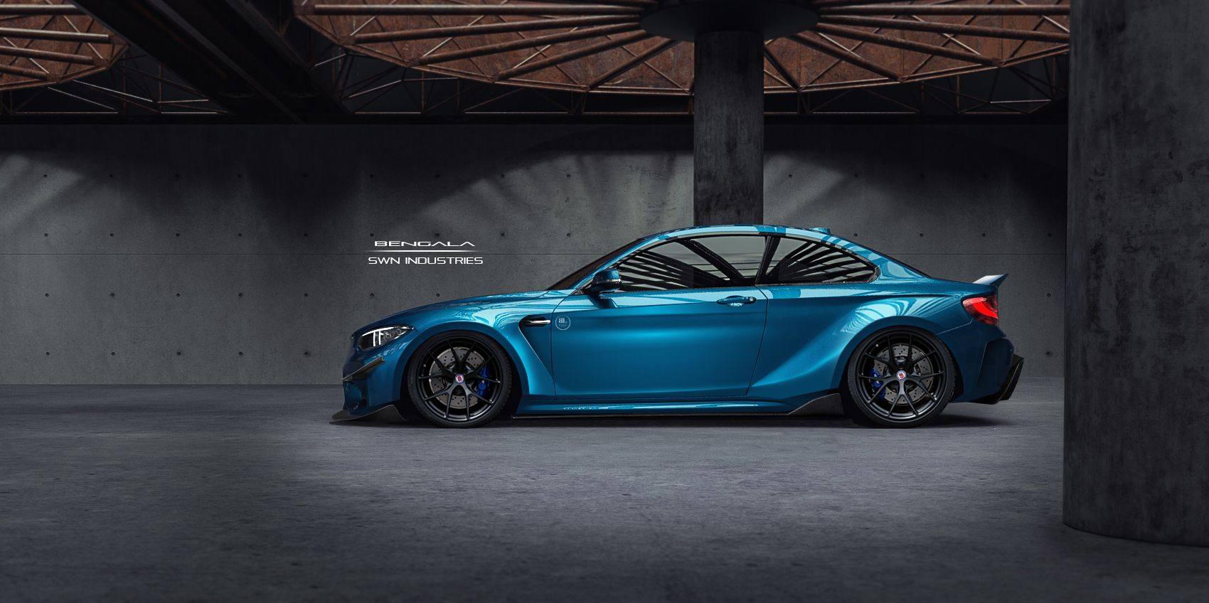 Custom BMW M2 Coupe 2016 rendered in KeyShot by Shubham ...