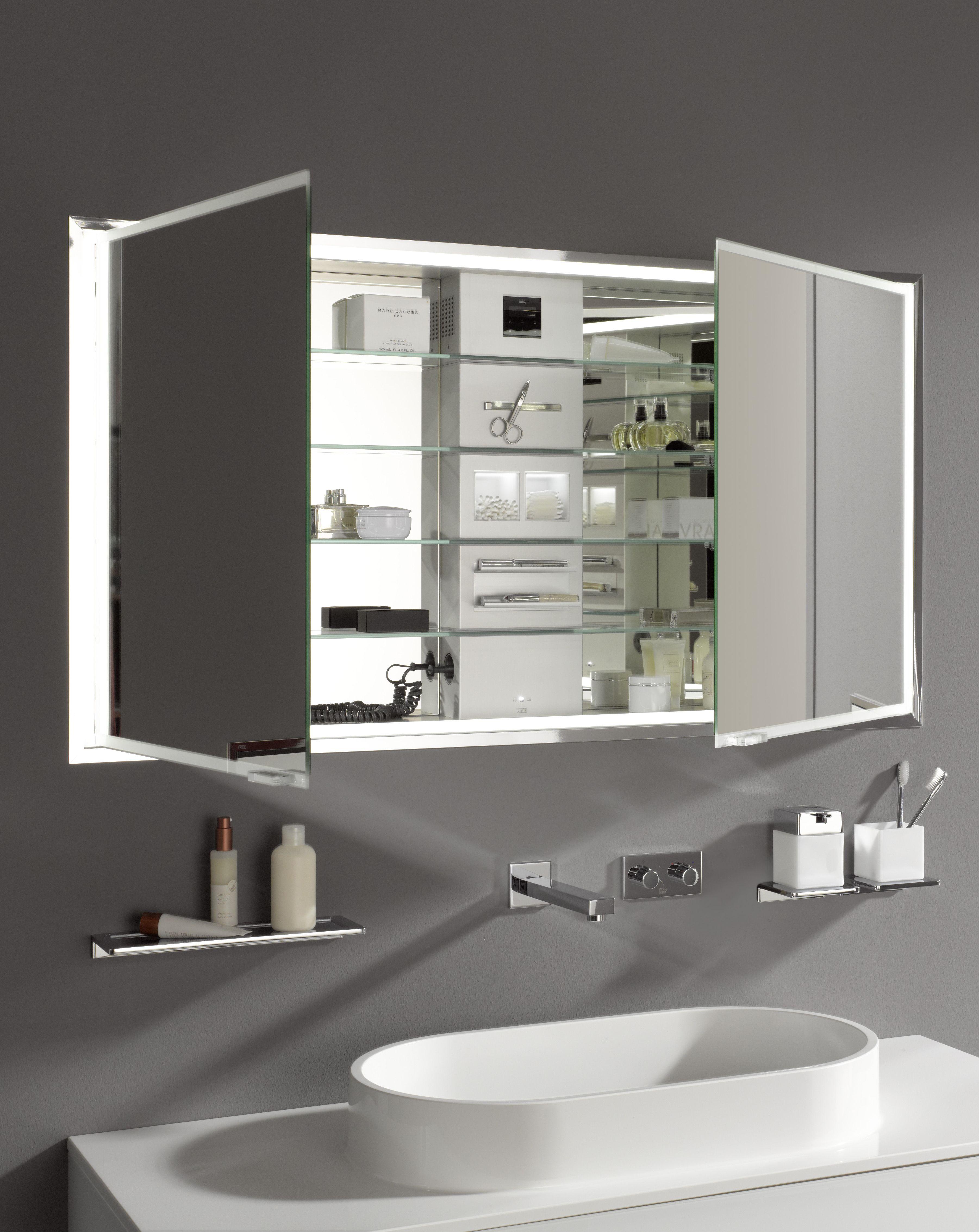 Emco Asis Prestige Lichtspiegelschrank Unterputzmodell 1315mm Spiegelschrank Bad Badezimmer Mobel Spiegelschrank