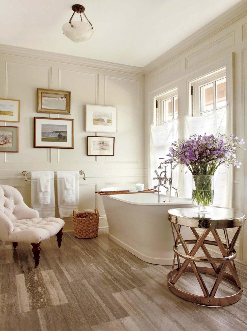 Traditional bathroom decor ideas | a master bath by Carrier and ...