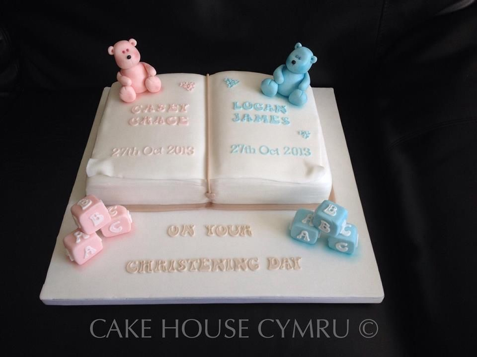 Joint Brother Sister Christening Cake Party Cakes Cupcakes And