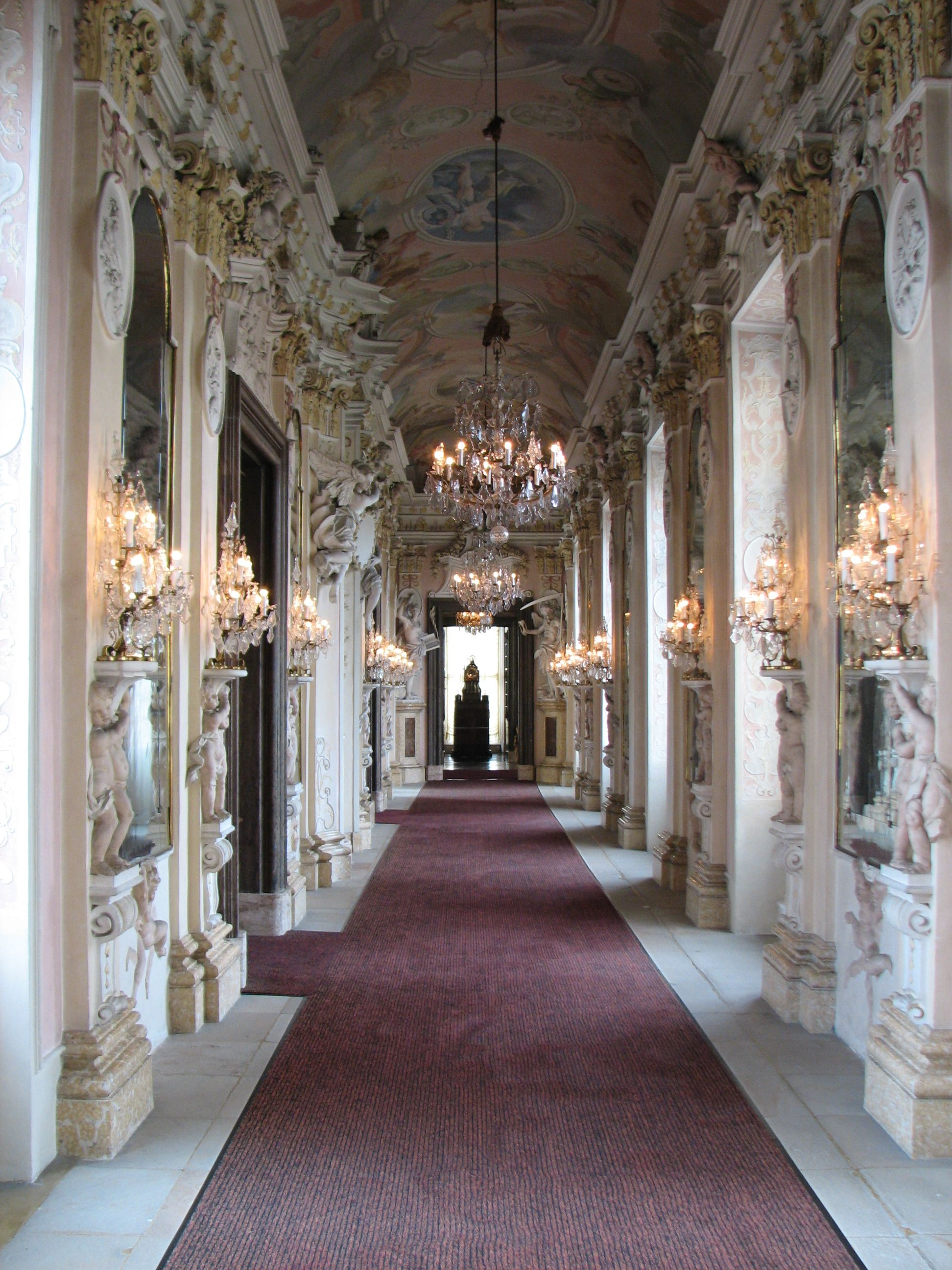 18th century castle of ludwigsburg germany photo mercy royal is pinterest interiores - Diseno de interiores wikipedia ...