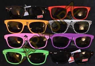lentes tipo ray ban de colores
