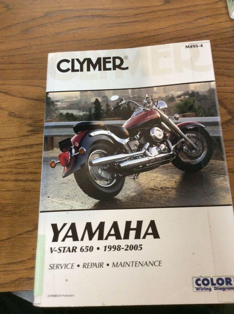 Advertisement Ebay Clymer Yamaha V Star 650 1998 2005 Service Repair Manual Yamaha V Star Repair Manuals Clymer