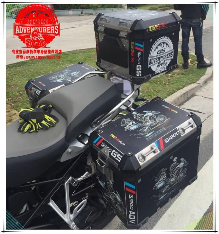 R1200gs adv travel event 2018 thick black side pannier box sticker r1200gs adv travel event 2018 thick black side pannier box sticker decal for bmw gumiabroncs Image collections