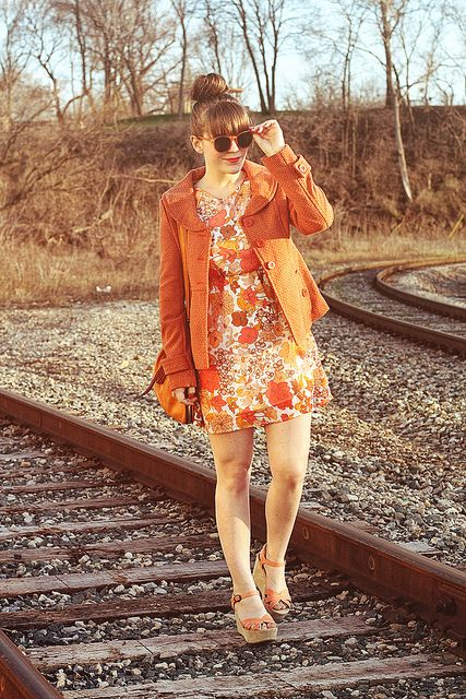 Tieka of Selective Potential. 70s inspired outfit.