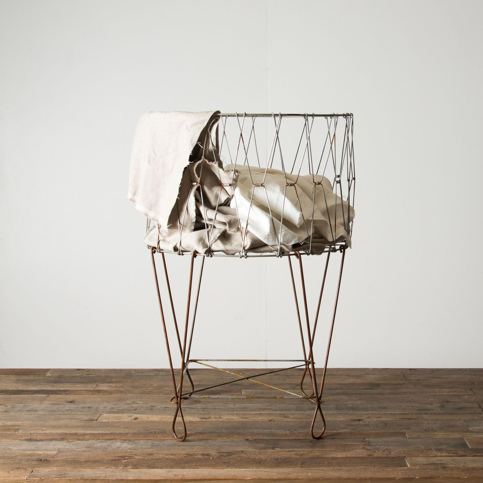 French Laundry Basket Magnolia Market Chip Joanna Gaines