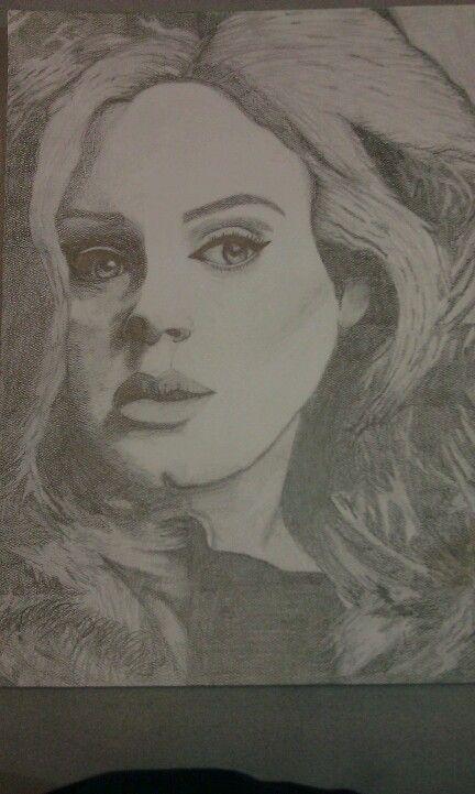 Adele drawing<3
